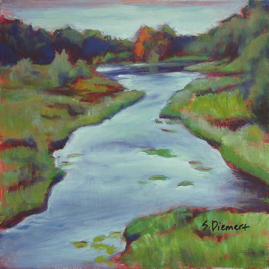 Three Bridges Painting - Three Bridges, Ontario - 014 of Celebrate Canada 150 by Sheila Diemert