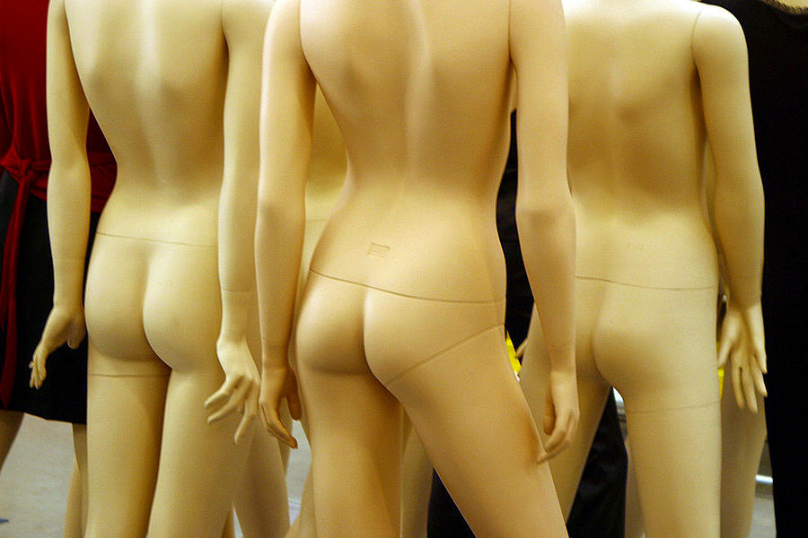 Photographer Photograph - Three Bums by Jez C Self