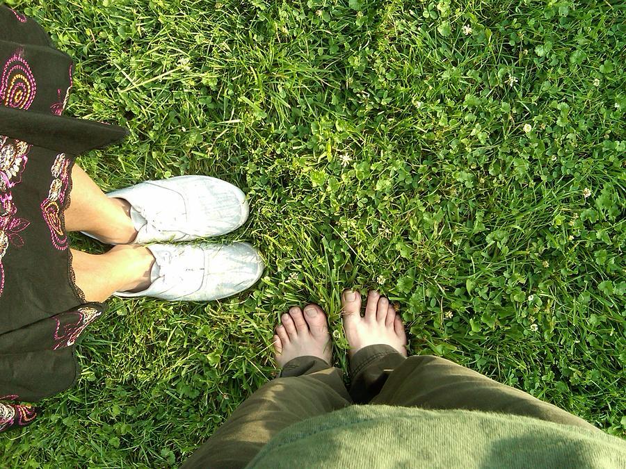 Feet Photograph - .three. by C Azzolini