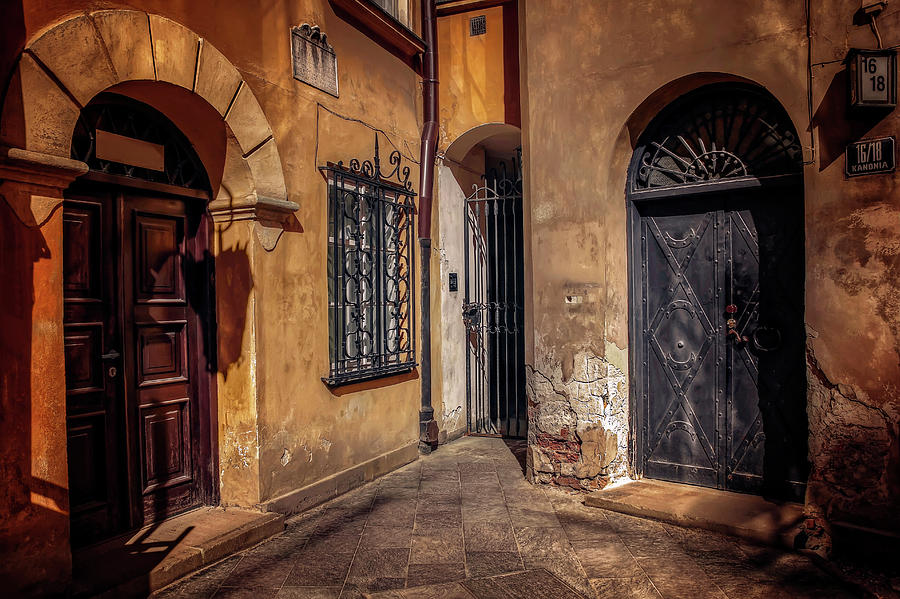 Three Doors in Warsaw by Carol Japp
