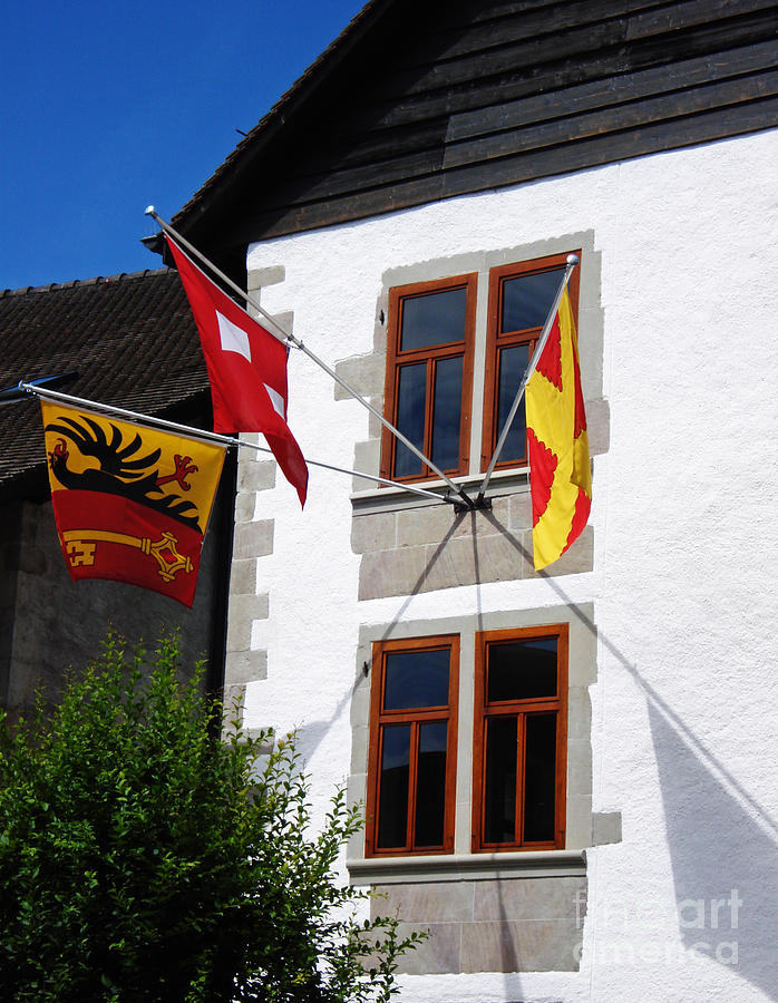 Three Flags Photograph