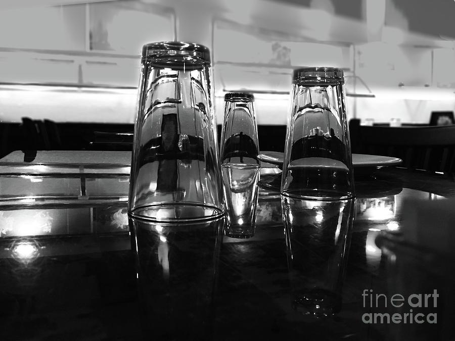 Three Glasses by Frank Merrem