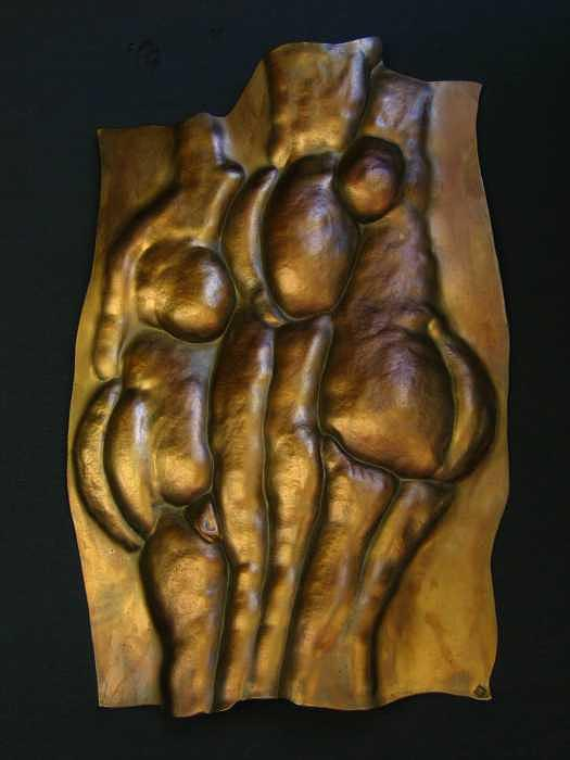 Three Graces 2 Sculpture by Todd Malenke
