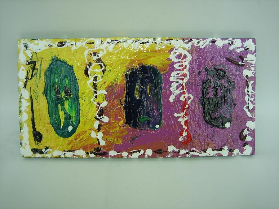 Three Painting - Three Guys by Lehua Ehukai
