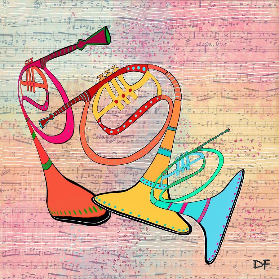 Three Horns by Dora Ficher