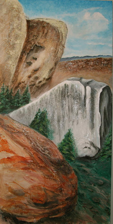 Landscape Painting - Three Hurdles by Dan Koon
