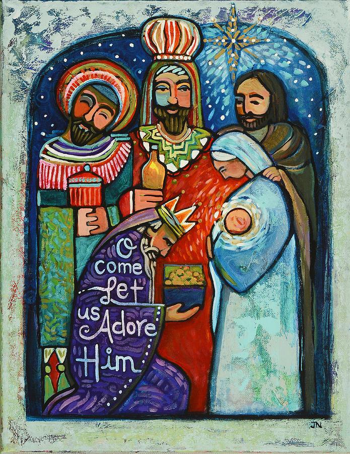 Three Kings O Come Let Us Adore Him Jen Norton