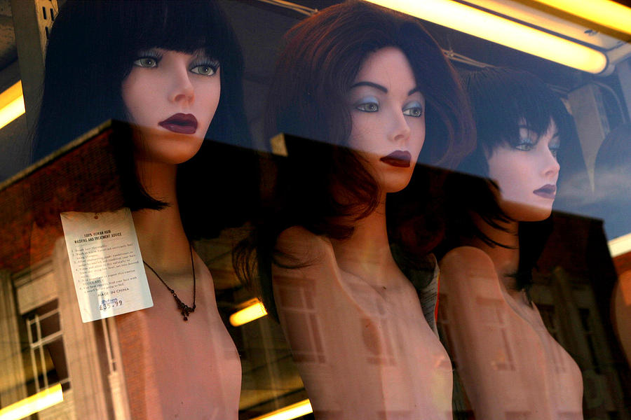 Photographer Photograph - Three Mannequteers by Jez C Self