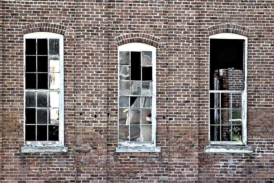 Three Old Windows by John Lewis
