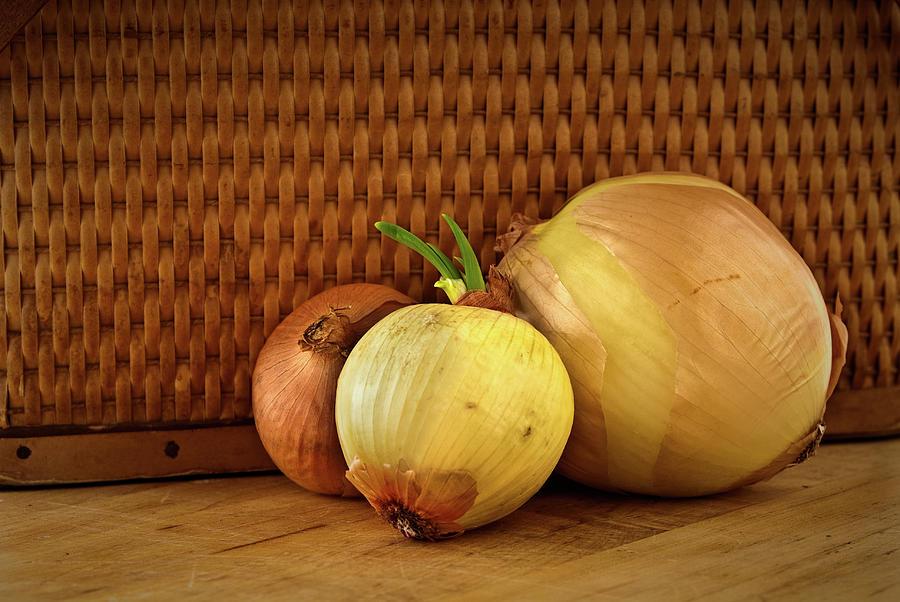 Three Onions Photograph