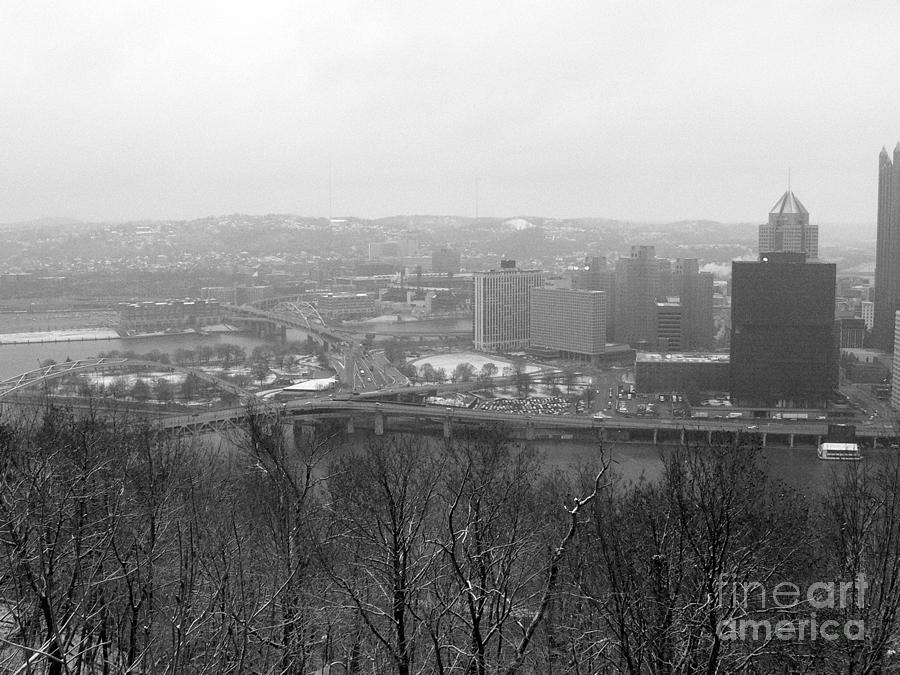 Winter Photograph - Three Rivers by David Bearden