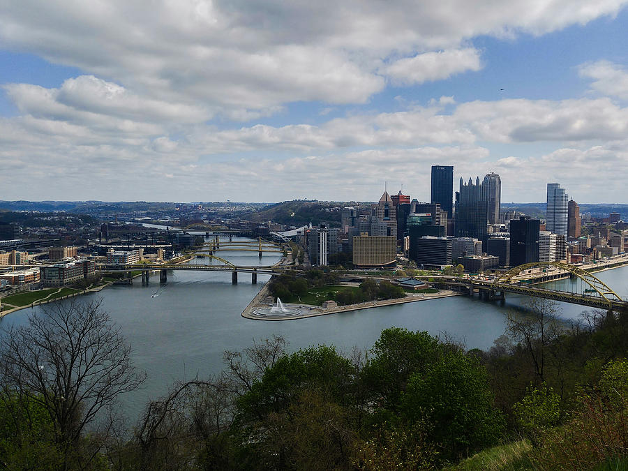 Pittsburgh Photograph - Three Rivers by Shelley Smith