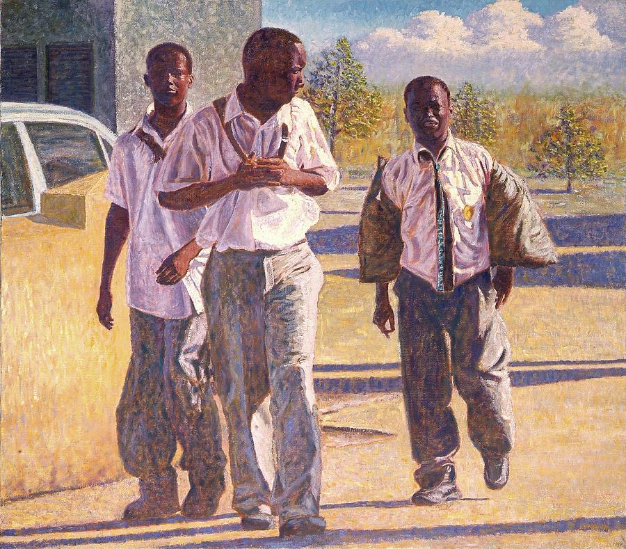 Three School Boys by Ritchie Eyma
