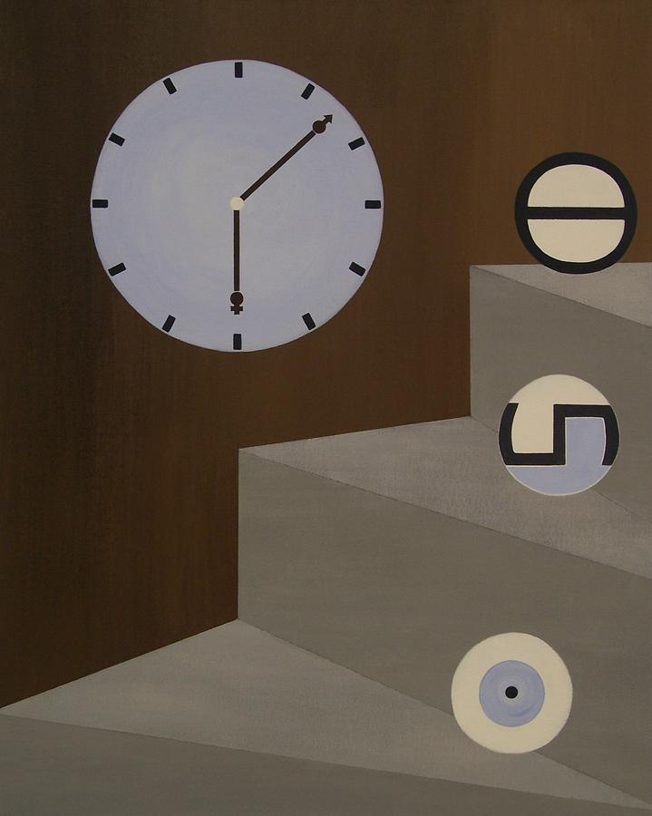 Time Painting - Three Stages Of Life by Sandy Bostelman