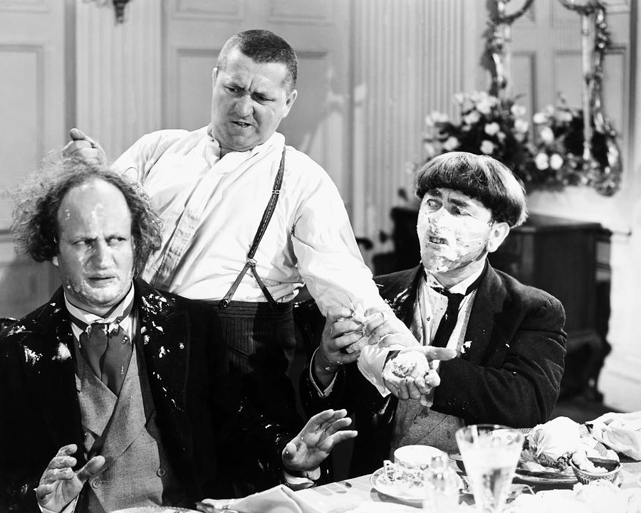1930 Photograph - Three Stooges: Film Still by Granger