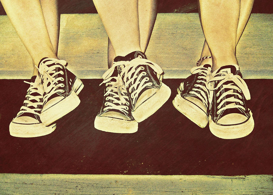 Chucks Photograph - Three Stooges by JAMART Photography