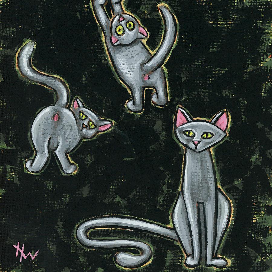 Three Studies in Grey by Holly Wood