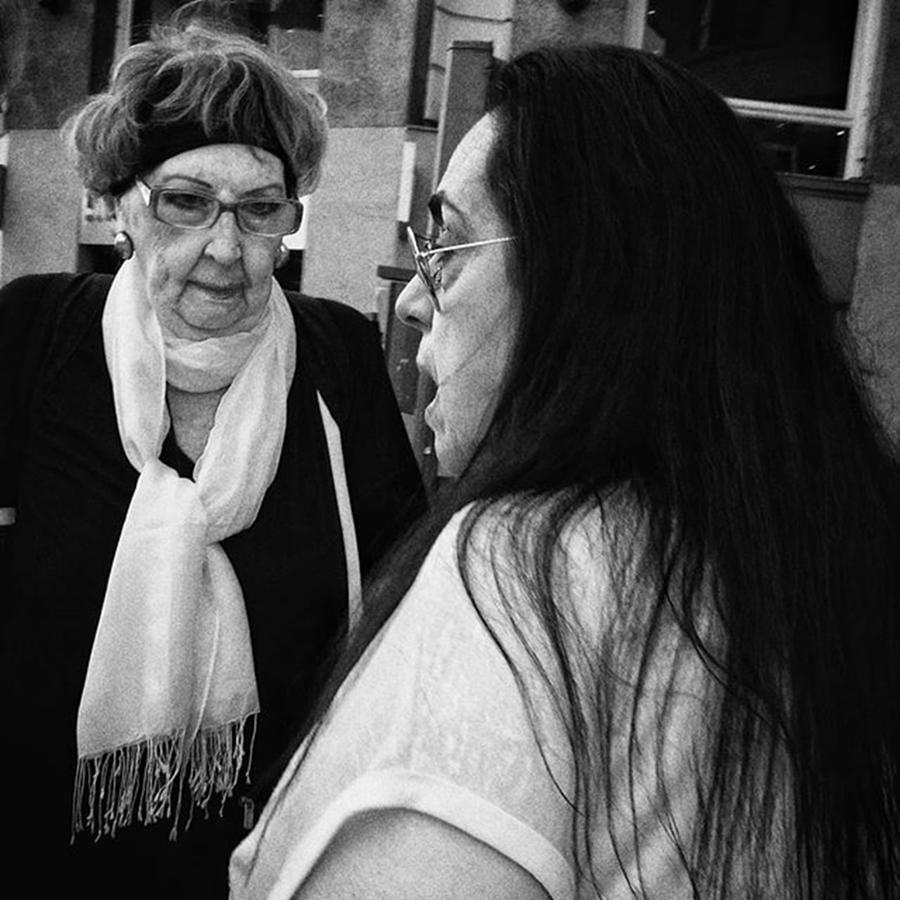 Madrid Photograph - Three, Two, One... Wake Up!  #woman by Rafa Rivas