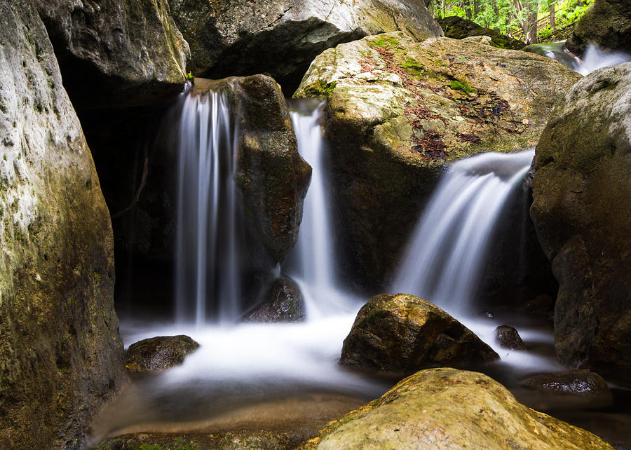 Waterfalls Photograph - Three Waterfalls by Cale Best