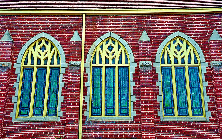 Three Windows Photograph