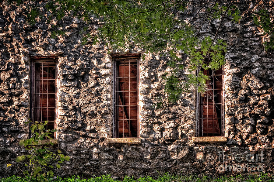 Windows Photograph - Three Windows by Tamyra Ayles