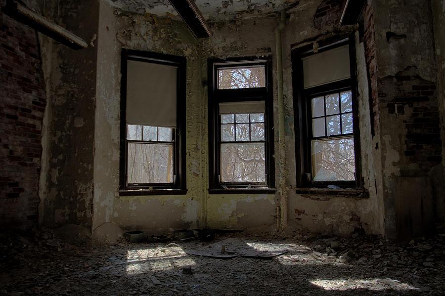 Abandonment Photograph - Threefold by Kevin Brett