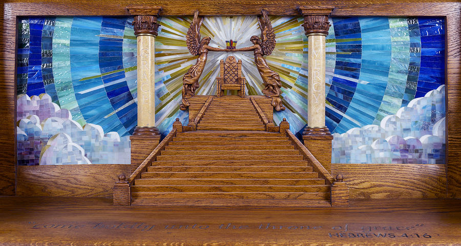 Throne Of Grace Photograph - Throne Of Grace by Cindy D Chinn