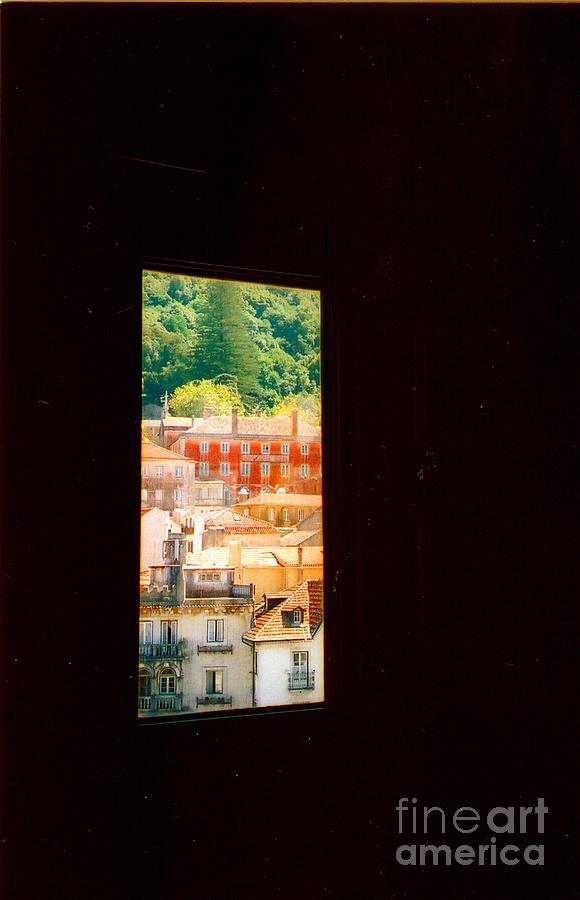 Portugal Photograph - Through A Window Darkly by Andrea Simon