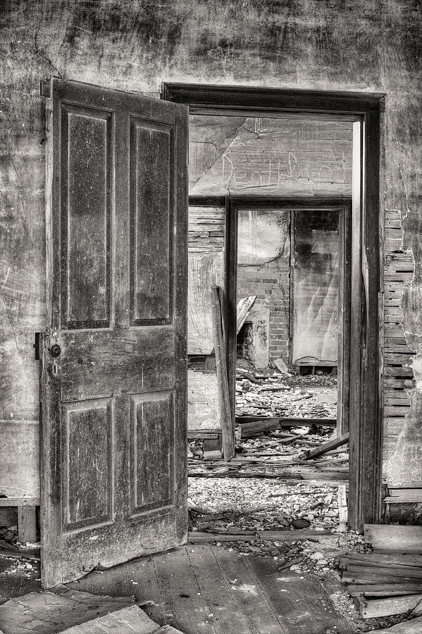 Through The Doors Of Time Photograph - Through The Doors Of Time by JC Findley