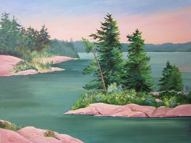 Through The Islands by Sue Nelson