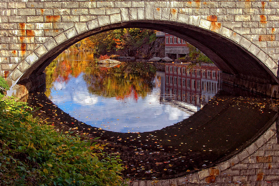 River Photograph - Through The Looking Glass by Joann Vitali