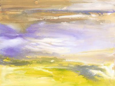 Mist Painting - Through The Mist by Bonnie Carter