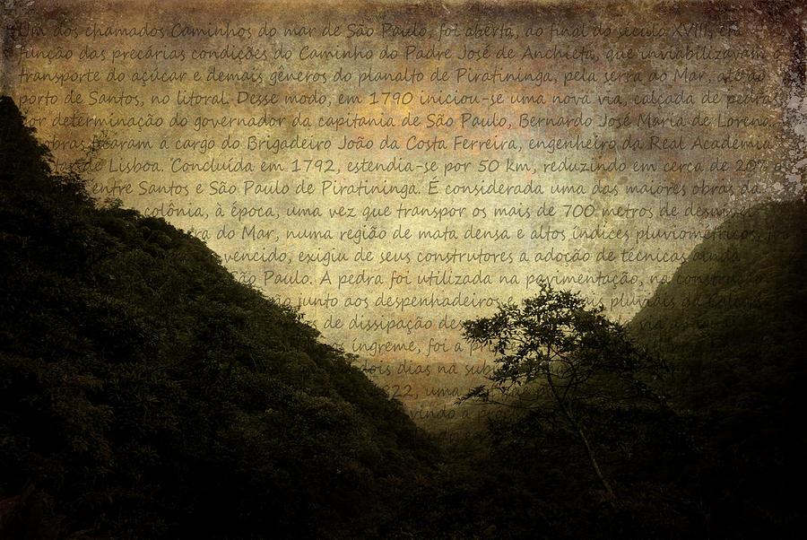 Illustration Photograph - Through The Mountains by Valmir Ribeiro