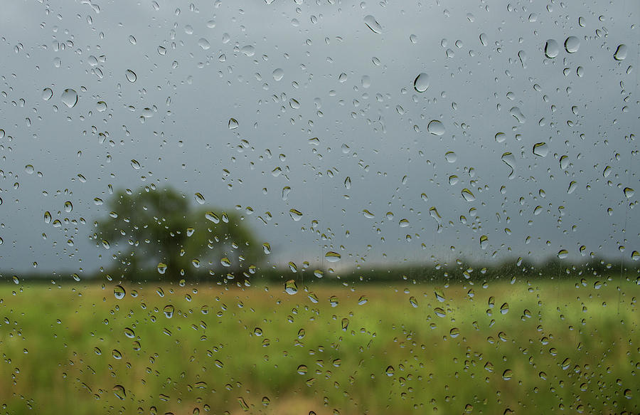 Landscape Photograph - Through The Raindrops by By Way of Karma