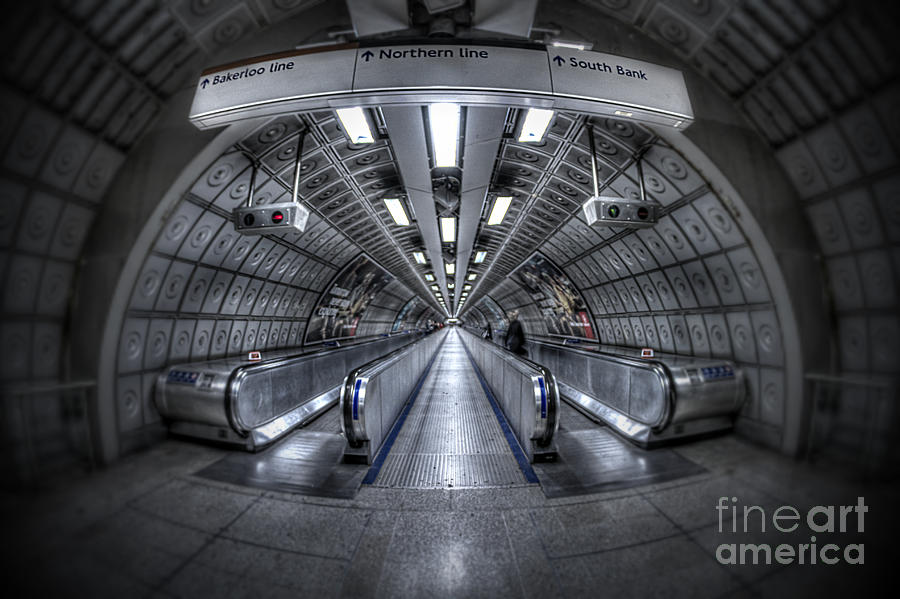 Through The Tunnel Photograph