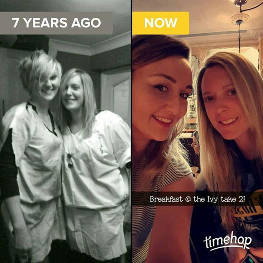 Throwback Photograph - #throwback #thenandnow #love #loveher by Natalie Anne