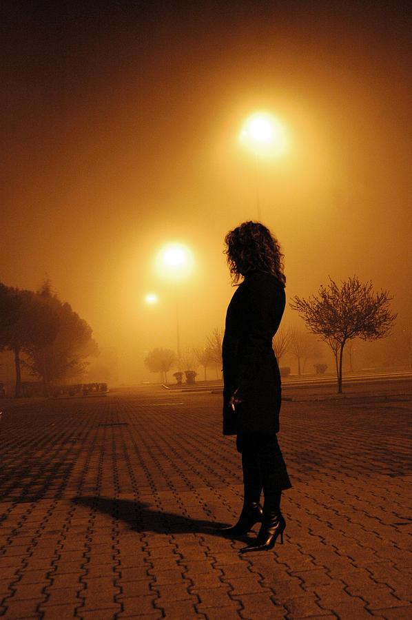Italy Photograph - Thru The Fog by Diego Bonomo