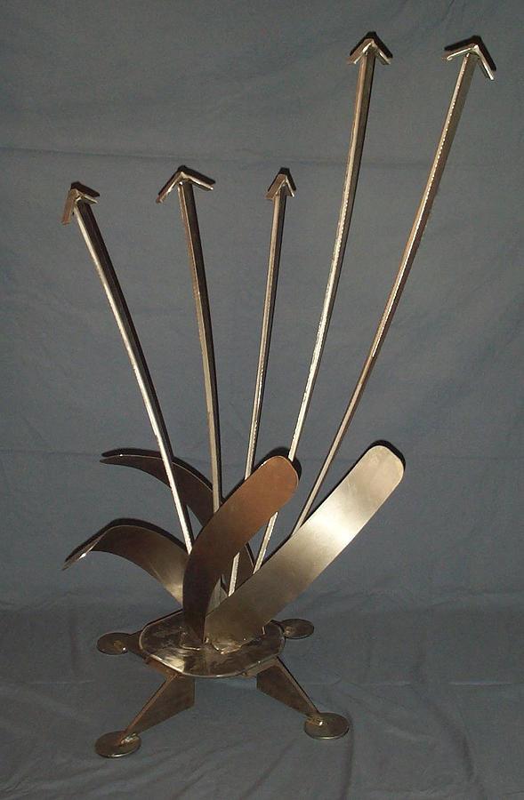 Steel Sculpture - Thrust by Eric McLaren