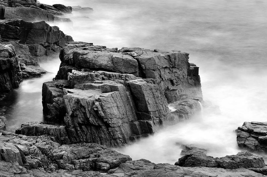 Acadia Photograph - Thunder Along The Acadia Coastline - No 1 by Thomas Schoeller
