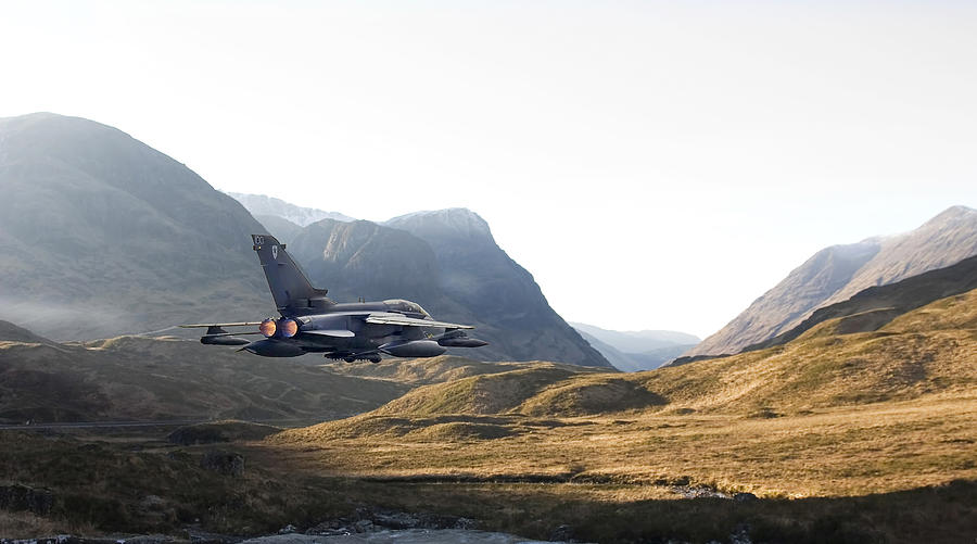Tornado Jet Photograph - Thunder In The Glen by Pat Speirs