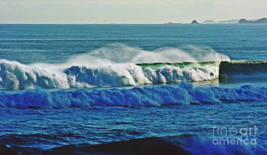Pinnacles Photograph - Thunder Of The Waves by Blair Stuart