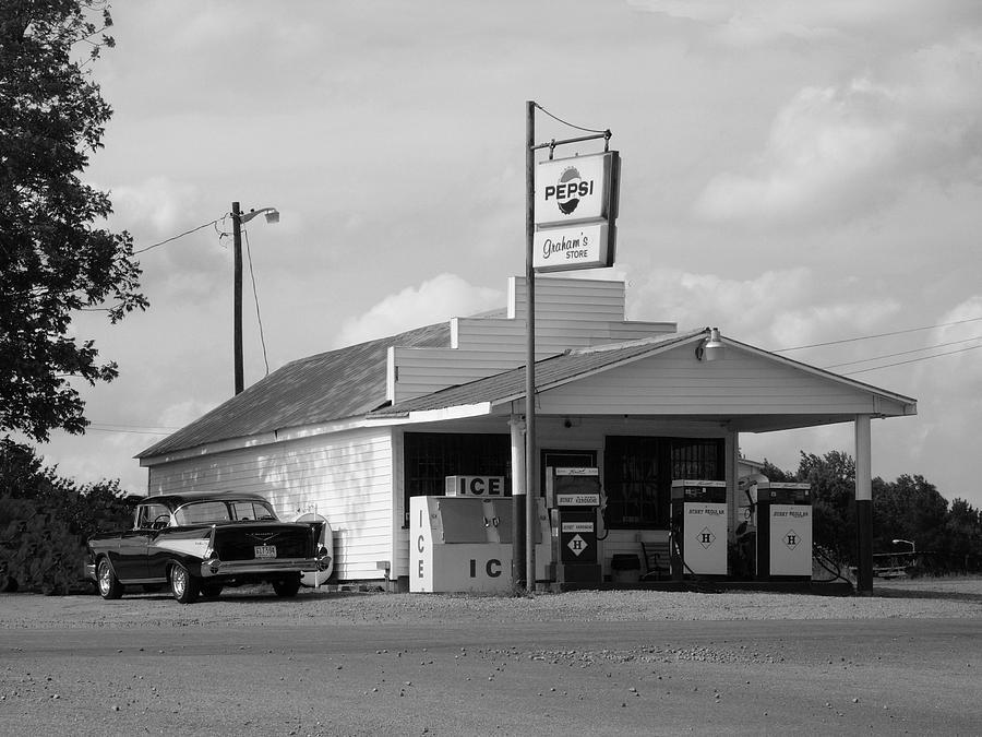 Classic Cars Photograph - Thunder Road by Robert Boyette