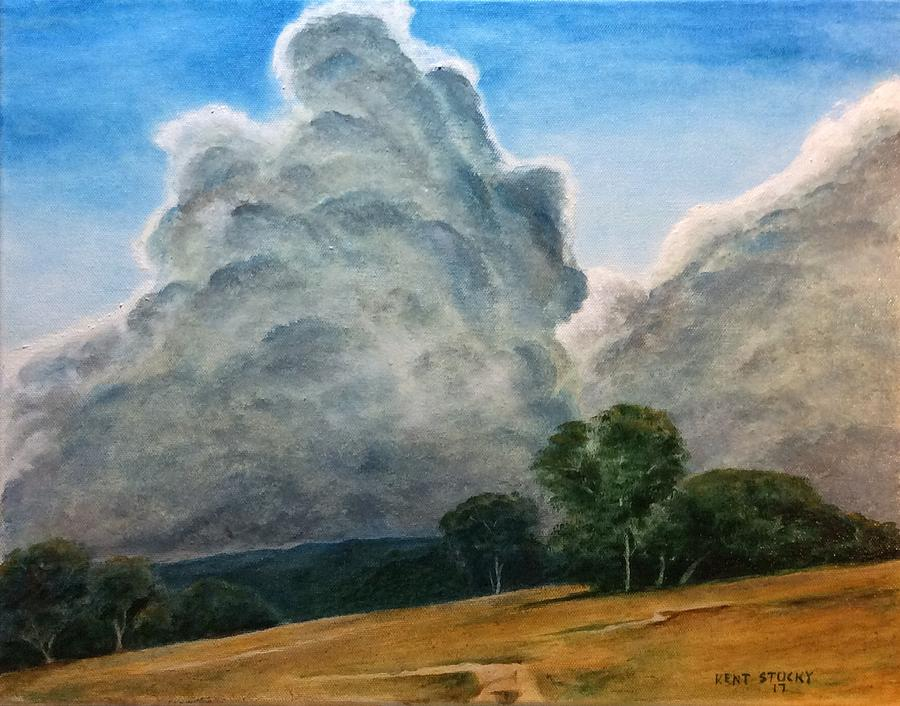 Thunder Painting - Thunder Struck by Kent Stucky