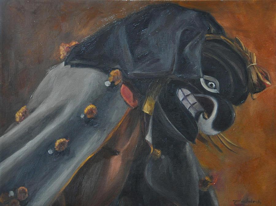 Native American Painting - Thunder by Tahirih Goffic