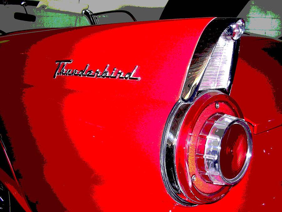 Automobile Photograph - Thunderbird by Audrey Venute
