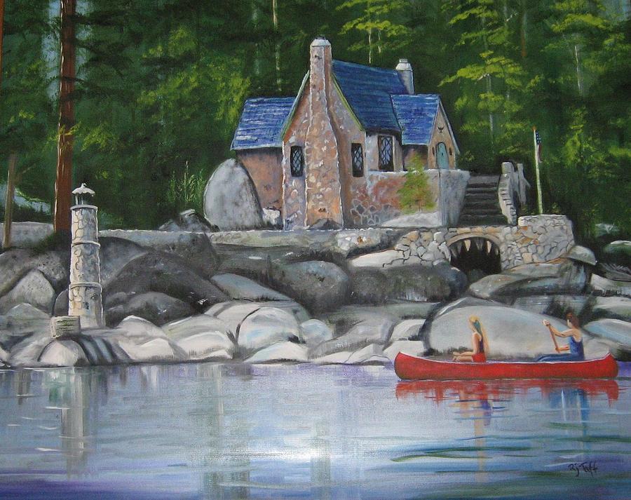 Thunderbird Lodge Boat House by Roberta Martin