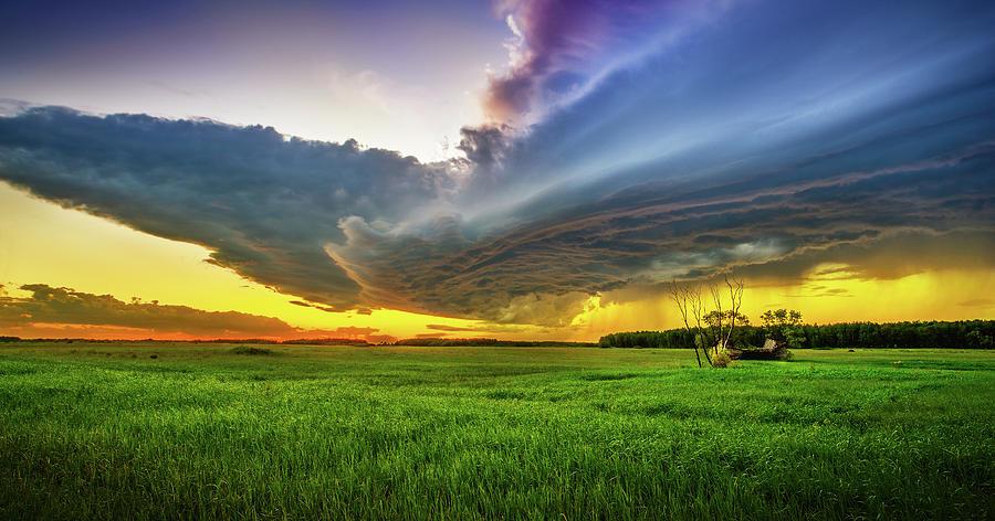 Clouds Photograph - Thunderbird by Stuart Deacon