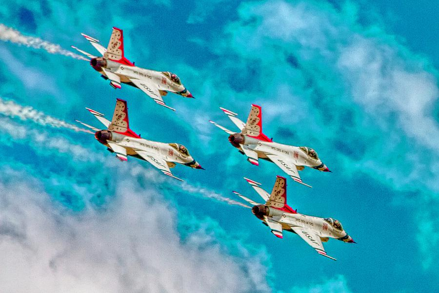 Thunderbirds In Formation II Photograph
