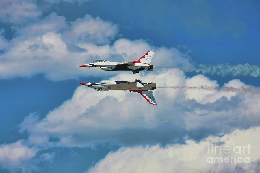 Thunderbirds Inverted by Richard Lynch