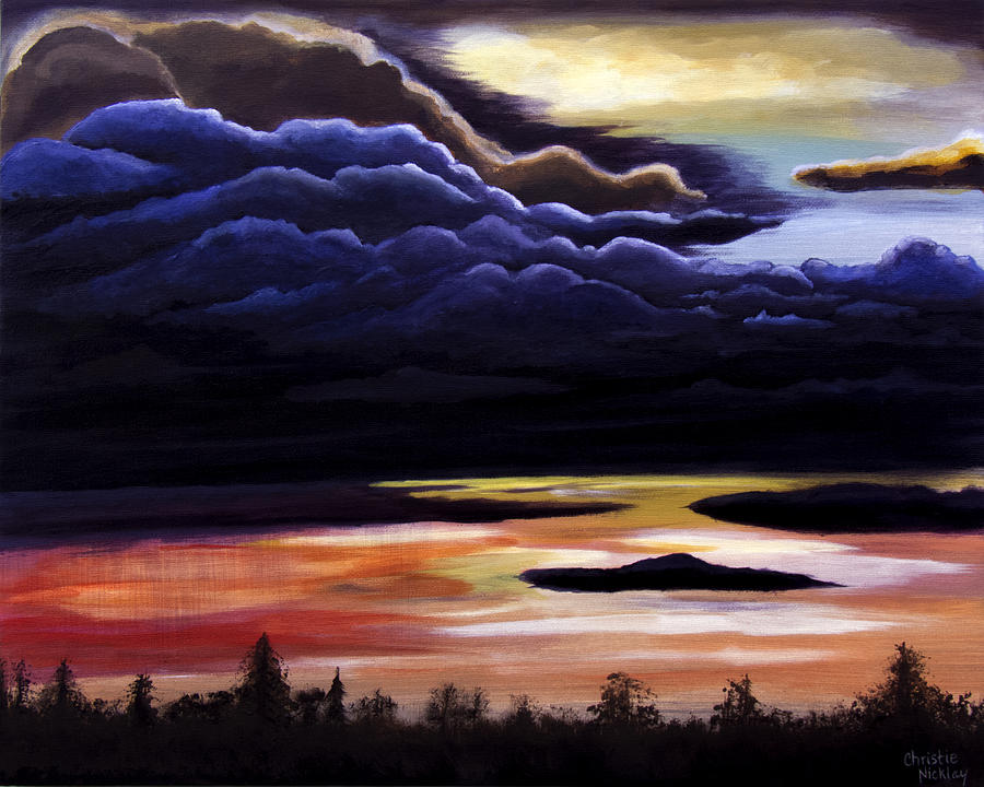 Cloud Painting - Thunderhead by Christie Nicklay